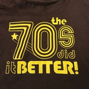 70's Vintage Style T Shirt